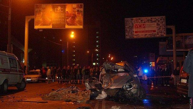В Одесі водій на авто з болгарськими номерами скоїв ДТП, в якій загинуло шестеро людей