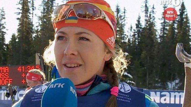 Українська біатлоністка Юлія Джима виграла передсезонну гонку у Норвегії