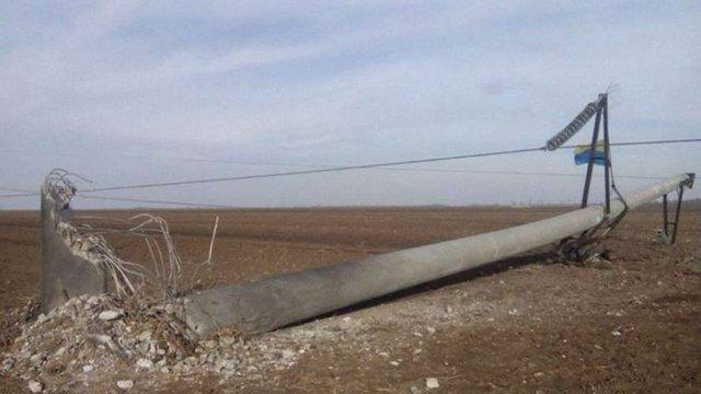 Поліція відкрила чотири кримінальних справи у зв'язку з підривом ЛЕП у Крим
