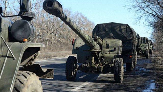 Україна виконала свої зобов'язання щодо відведення озброєння менше 100 мм, – Генштаб