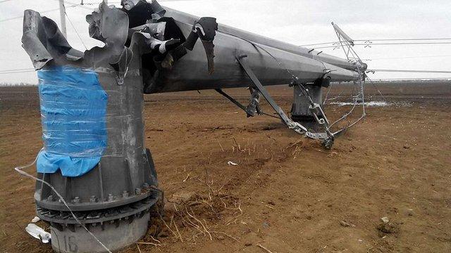 Падіння опор ЛЕП призвело до відімкнення українських атомних станцій, – «Укренерго»