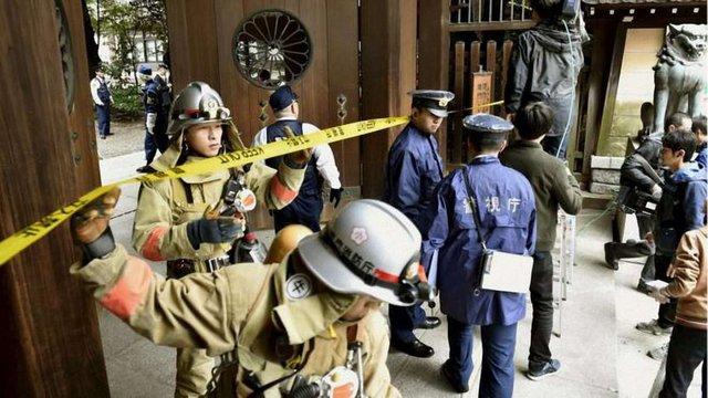 У Токіо біля храмового комплексу Ясукуні стався вибух саморобної бомби