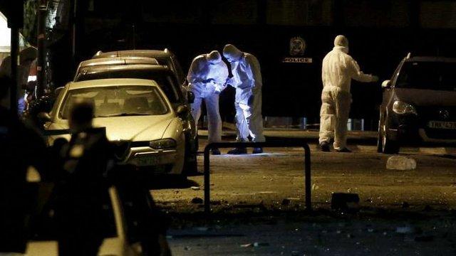 Неподалік бізнес-центру в Афінах вибухнула бомба
