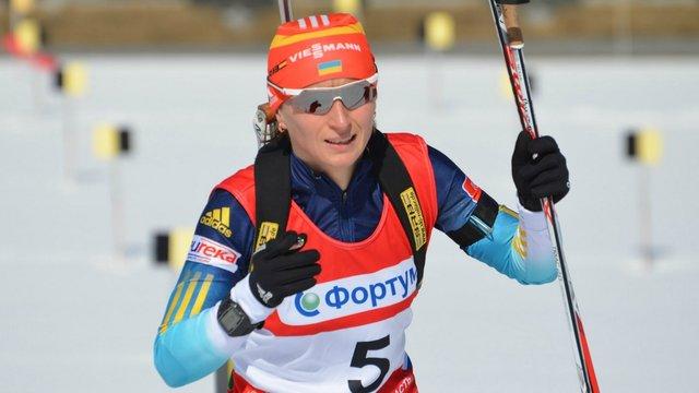 Біатлоністка Віта Семеренко повернулась до тренувань