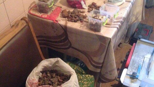 На Львівщині викрили підпільний цех з обробки бурштину