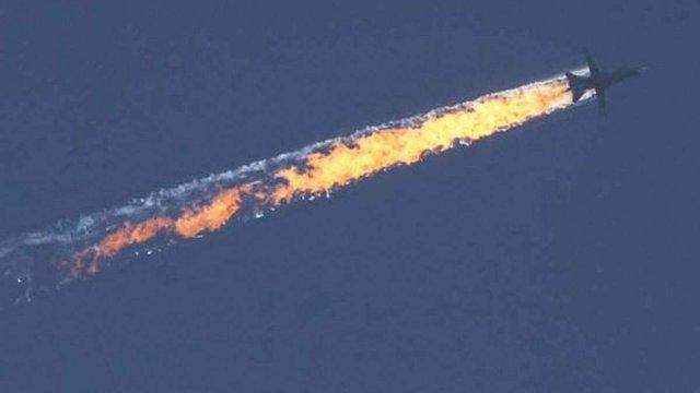 Турецькі військові показали зображення радара з маршрутом збитого російського літака