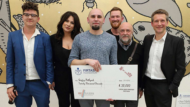 Проект львівського художника переміг у Лондоні