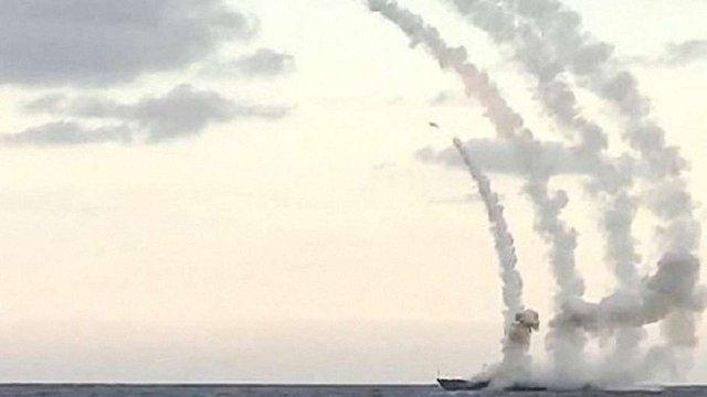 Росія завдала ракетних ударів з кораблів по району падіння Су-24 в Сирії