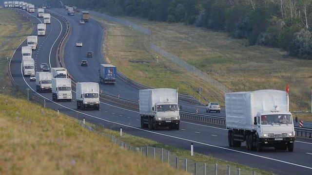 Черговий російський «гумконвой» в'їхав на окуповану територію Донбасу