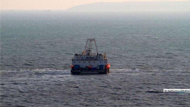 ГПУ відкрила справу проти китайського судна, яке протягує кабель з Росії до Криму