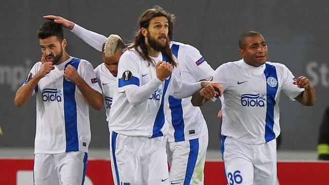 «Дніпро» програв «Лаціо» і вилетів із розіграшу Ліги Європи