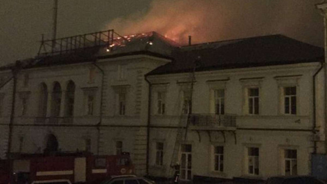 В Одесі вночі сталася пожежа у будинку, де розташований волонтерський центр