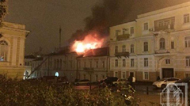 Одеські волонтери заявляють про зникнення з будинку, що горів, речей для бійців АТО
