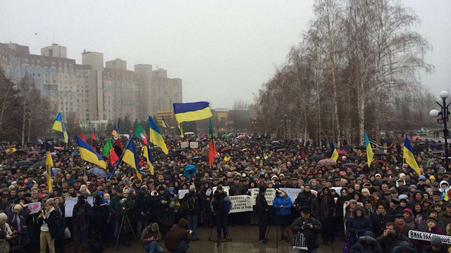 Мітингувальники створили раду представників громади у Кривому Розі