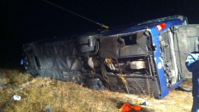 У Росії перекинувся автобус «Москва–Донецьк» в результаті чого загинули 4 людини