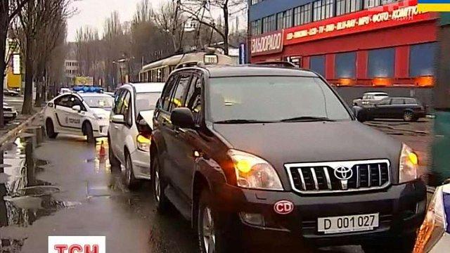П'яний працівник посольства Росії спричинив аварію в Києві