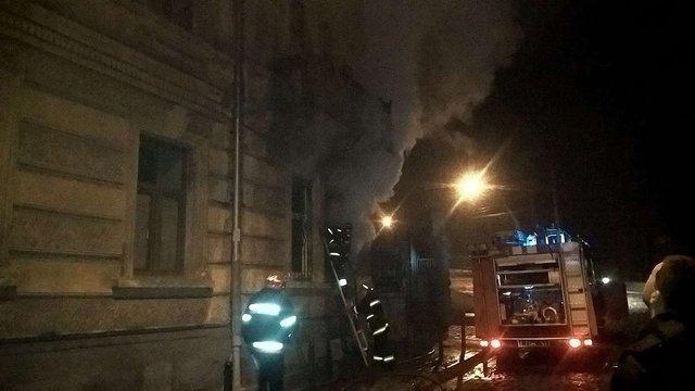 У центрі Львова горіла квартира