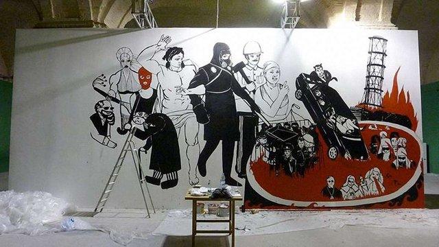 Художник продовжує судитися з «Мистецьким Арсеналом» через знищену роботу