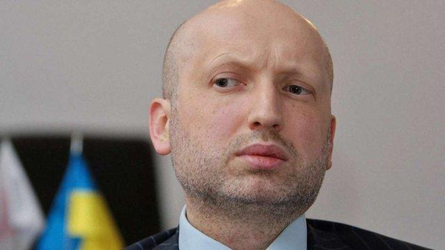 Турчинов виступив за візовий режим з Росією