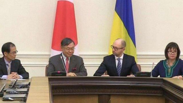 Японія виділила Україні $300 млн на реформи
