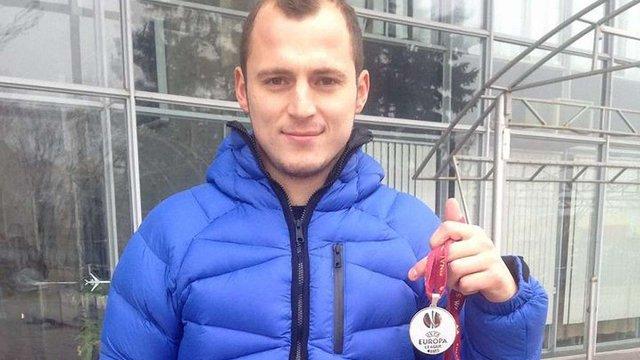 Роман Зозуля виставив на аукціон медаль з фіналу Ліги Європи