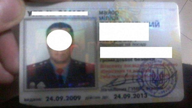 У Львові затримали колишнього міліціонера п'яним за кермом