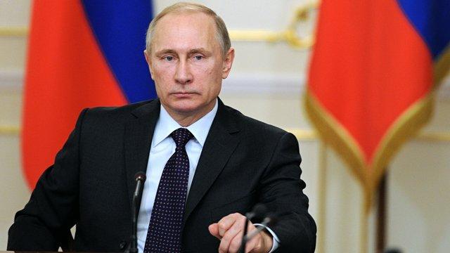 Путін підписав закон про призупинення договору про ЗВТ з Україною