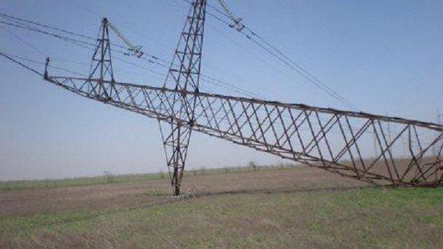 Опору лінії електропостачання Криму насправді підірвали
