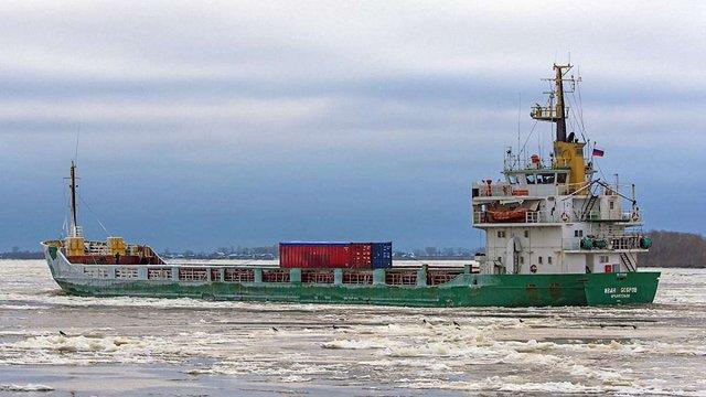 У Данії затримали російський корабель з п'яним екіпажем