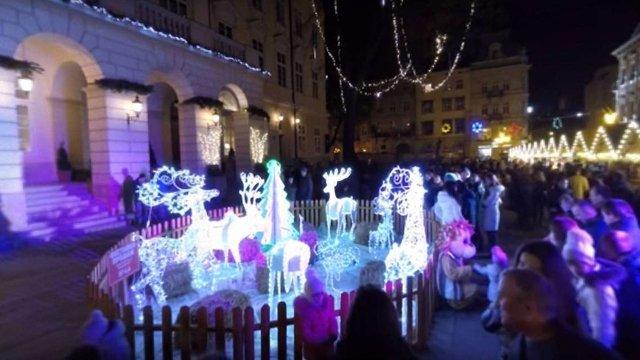 Різдвяний Львів тепер можна відвідати за допомогою панорамного відео