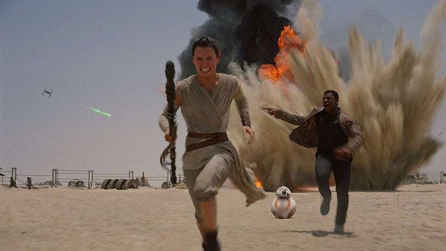 Фільм «Зоряні війни-7» увійшов до трійки найкасовіших в історії кіно