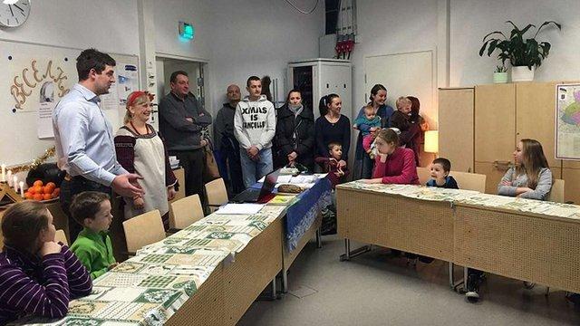 У столиці Фінляндії відкрили українську недільну школу