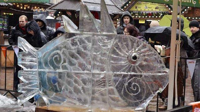 На Йордан у Львові відбудеться конкурс льодових скульптур