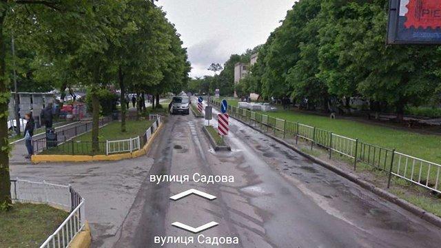 На вул. Садовій у Львові облаштують велодоріжки та зону паркування