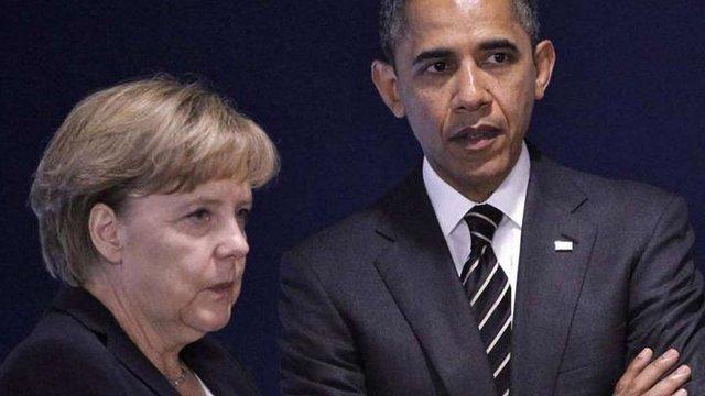 Обама і Меркель наголосили на необхідності пришвидшення виконання Мінських угод