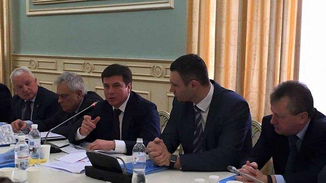 Віталій Кличко став головою Асоціації міст України