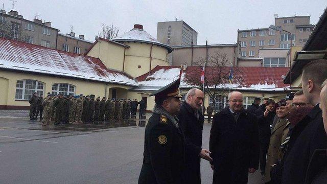 У Любліні відкрили штаб спільної литовсько-польсько-української військової бригади