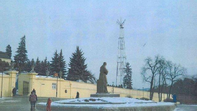 Радіовежу поблизу Собору св. Юра у Львові почнуть демонтовувати в лютому