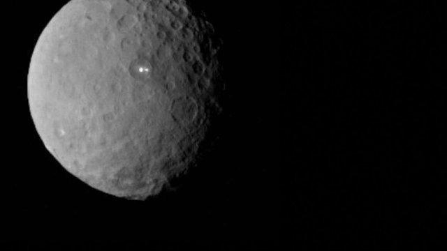 NASA опублікувало відео польоту над карликовою планетою Церера