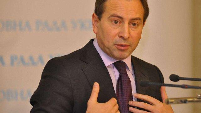 Голова Верховної Ради оголосив про вихід Миколи Томенка із фракції БПП