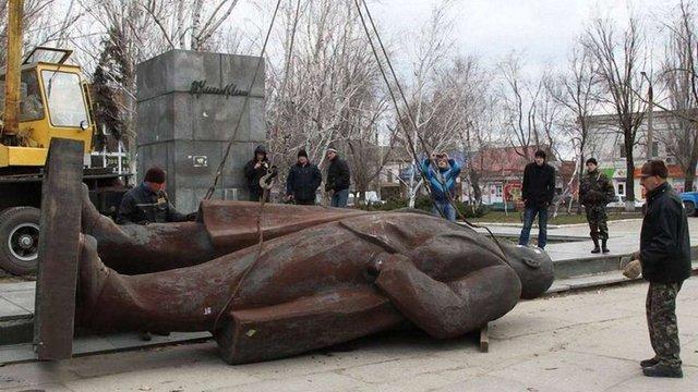 В Україні за рік демонтували 139 комуністичних пам'ятників