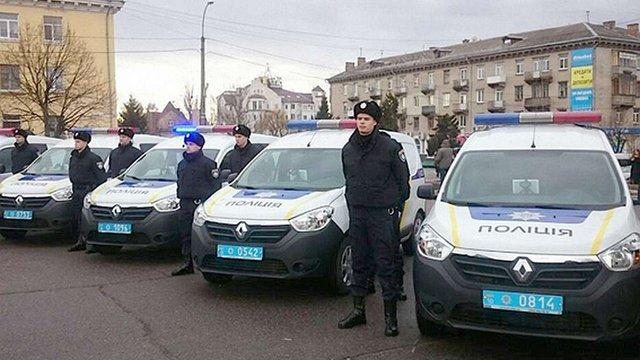 На Київщині почали роботу нові групи реагування патрульної поліції