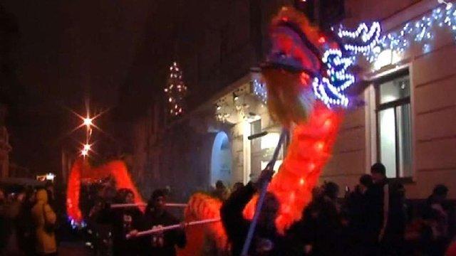 Площею Ринок у Львові відбудеться хода вогняних драконів
