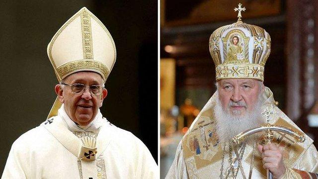 Папа Римський вперше в історії зустрінеться з патріархом РПЦ