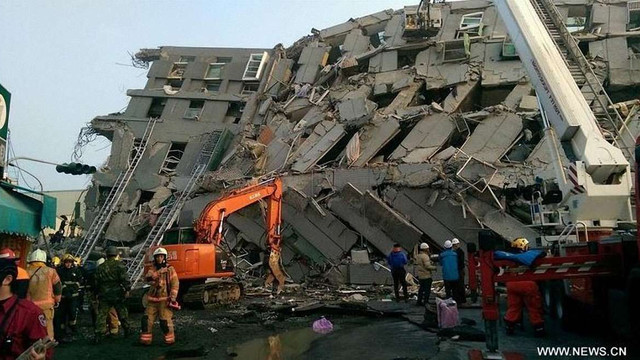 Унаслідок землетрусу на півдні Тайваню загинули 3 людей