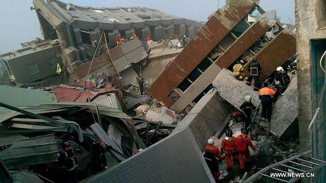 Кількість жертв землетрусу на Тайвані зросла до 11 осіб