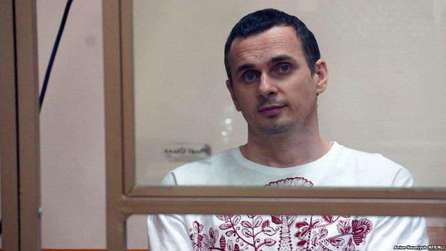 Олега Сенцова відправили відбувати покарання до Іркутська