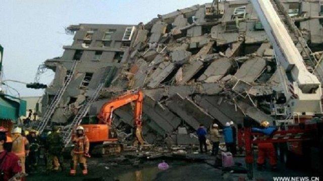 Кількість жертв землетрусу на Тайвані зросла до 14 людей, доля понад 100 невідома