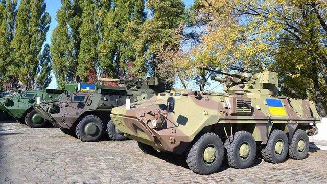 Україна отримає німецькі двигуни для БТР-4 за зниженою ціною