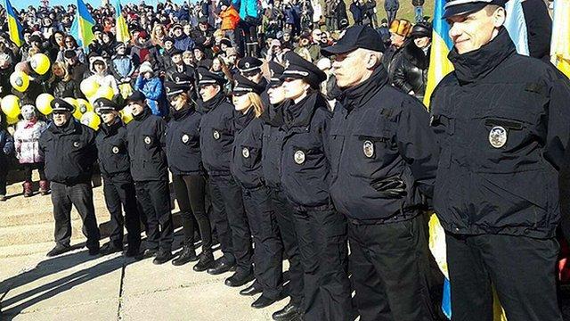 Патрульна поліція розпочала роботу в Херсоні